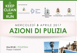 La Parrocchia organizza la tappa di Polistena di Keep Clean and Run #pulisciecorri