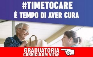 Graduatoria Curriculum Vitae - Progetto Time To Care