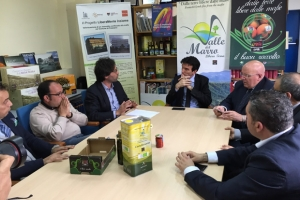 Il Ministro MARTINA in visita alla Valle del Marro
